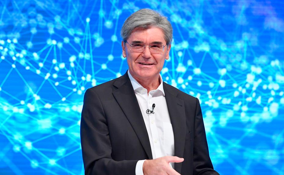 Siemens-Vorstandschef Joe Kaeser: Handeln, nicht zuschauen.