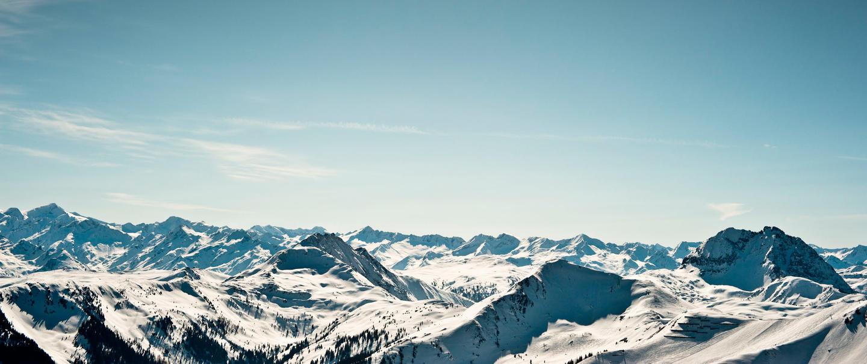 Kitzbüheler Berge: Fernsicht mit hohem Risiko.